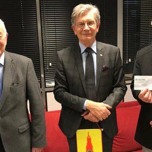 La générosité du Lions-club Arras Beffroi pour le Noël des Déshérités