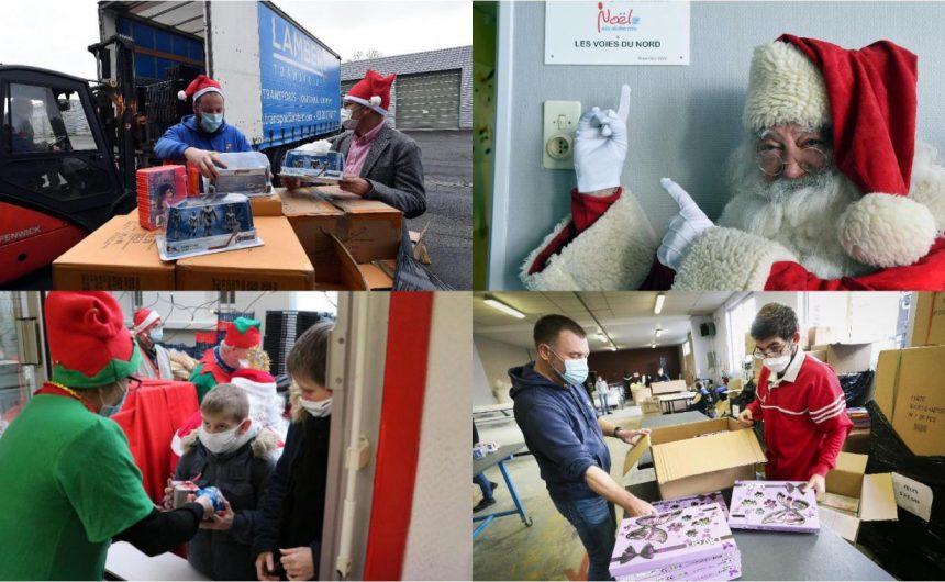 Noël des déshérités : comment quelques bénévoles ont permis à des milliers d'enfants de retrouver le sourire