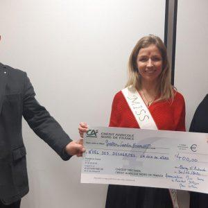 Arrageois : le comité Miss sucre généreux avec le Noël des Déshérités
